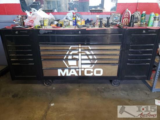 Matco Pro-Formance Series Tool Box with 2 Side Cabinets