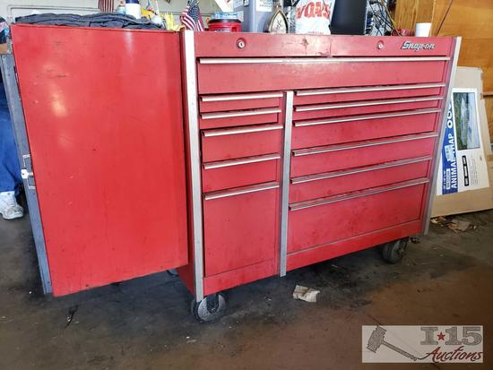 Snap-on Tool Box with Side Box