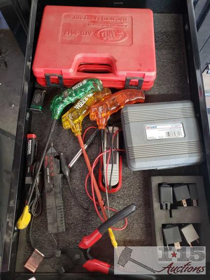 Matco Quick Probes, Car Quest Relay Test Jumper Kit, Surpro Circut Tester, and More