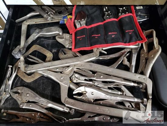 Vise Grip Locking Hose Clamp Pliers, Mac Tools, and Other Brands