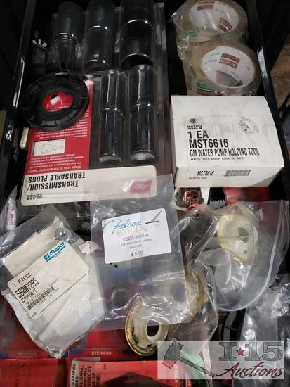 Transmission/Transaxle Plugs, Window Crank Tool, GM Water Pump Holding Tool, and More