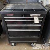 5 drawer kobalt tool chest w/ various tools