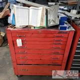 8 Drawer MAC tool chest w/ various hardware
