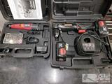 Craftsman Drill/ Driver & Chicago Electric Rotary Tool kit