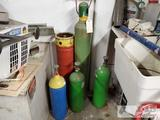 5 Compressed Gas Tanks