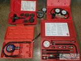 Mac Tools CT155 Deluxe Compression Tedt Kit, ATD Electronic Pressure Meter, ATD Cylinder Leakage