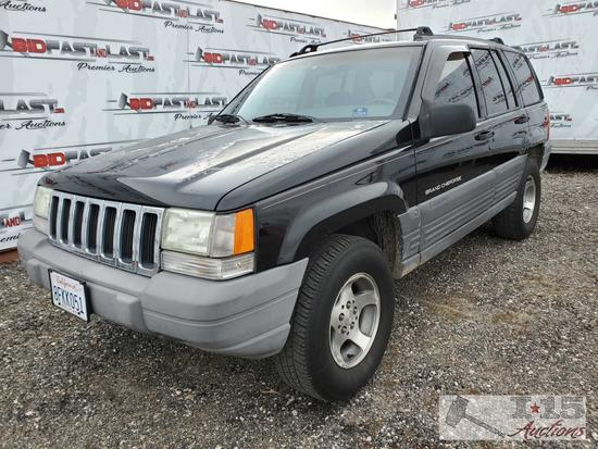 1998 Jeep Grand Cherokee Multipurpose Vehicle (MPV), Current Smog See Video!!