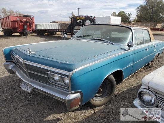 1965 Chrysler Crown imperial, See Video!!