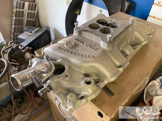 Offenhauser Dual-Port Intake Manifold