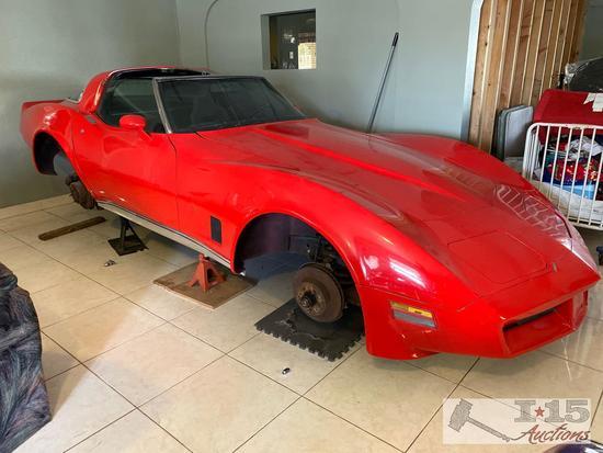 1980 Chevrolet Corvette Coupe, Two-Door Hardtop