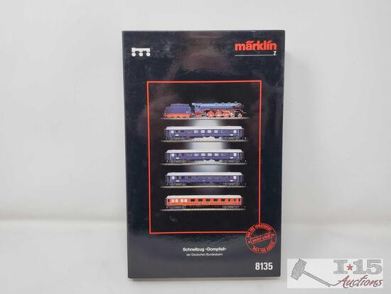 Marklin Mini-Club Z Scale Dompfeil Train Set - 8135