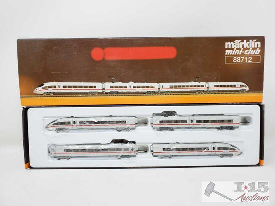 Marklin Mini-Club Z Scale Train Set - 88712
