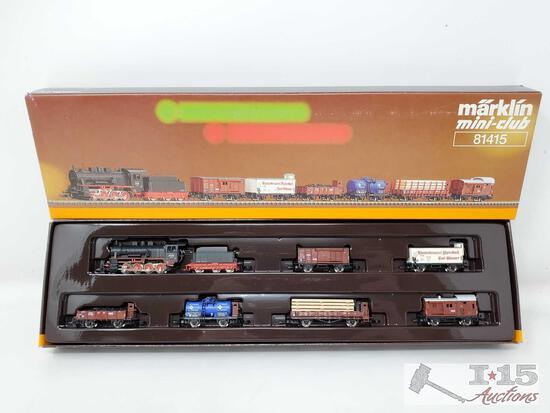 Marklin Mini-Club Z Scale Train Set - 81415