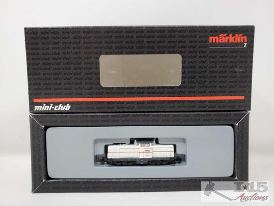 Marklin Mini-Club Z Scale Sersa Locomotive- 88692