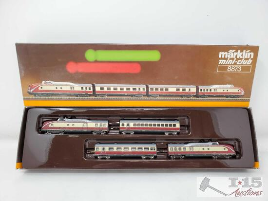 Marklin Z Scale Trans Europe Express Train Set - 8873