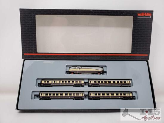 Marklin Z Scale Henschell Wegmann Train Set - 81436