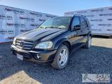 2001 Mercedes-Benz ML55 AMG, DEALER OR OUT OF STATE BUYER ONLY