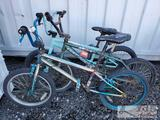 Kent, FreeAgent and 1 Unbranded BMX Bicycles