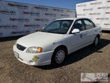 2003 Kia Spectra, White, See Video! DEALER OR OUT OF STATE BUYER ONLY !!