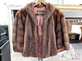 Graf's Fine Furs Throw Over