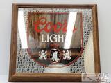 Coors Light Beer Wall Decor.