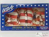 1996 Starting Line Up Team USA Action Figure Set With Team Poster