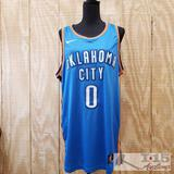 Russell Westbrook Signed Autographed Basketball Jersey with COA,
