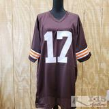 Brian Sipe Signed Autographed Football Jersey with COA, XL