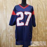 Duke Johnson Jr Autographed Football Jersey With COA, XL
