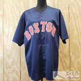 Christian Vazquez Autographed Blue Jersey with full time COA