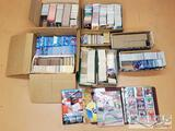 HUGE Lot of Baseball Trading Cards and Magazines