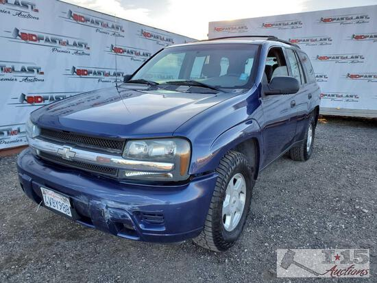 2002 Chevrolet TrailBlazer CURRENT SMOG