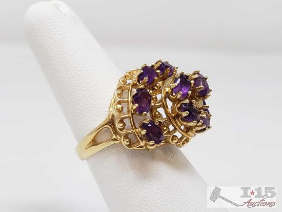 14k Gold Ring 7.4g