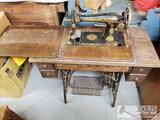 Antique 1926 Singer Sewing Machine
