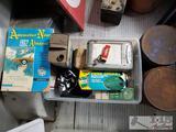 Car Miscellaneous, Potato Chip Tins, Automotive Journals