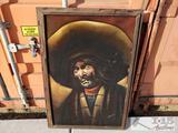 Signed and Framed Artwork - Cowboy
