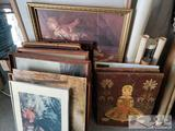 Paintings and Posters Assortment