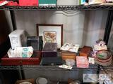 Keepsake Boxes, Tea Set, Blood Glucose Meter and More!