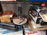 Craftsman Planer, Delta Scroll Saw, Norton Multi-Oil Stone