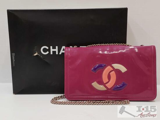 Authentic Chanel Cross Body Purse