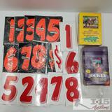 Jockey Trading Cards, Number Cards