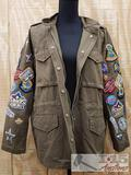 Romeo + Juliet Couture Olive Green Jacket