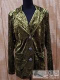 Velvet Green Silverado Made in The USA Coat