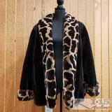 Le Coat by Tissavel Fur Coat, XL