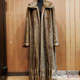 Womens Pamela McCoy Fur Coat, 2XL
