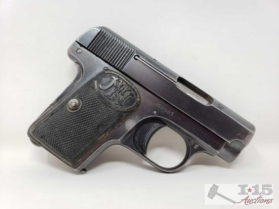 Fabrique d'Armes .25cal Semi-Auto Pistol with Magazine