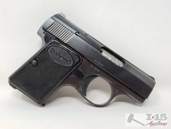 Browning .25cal Semi-Auto Pistol with Magazine