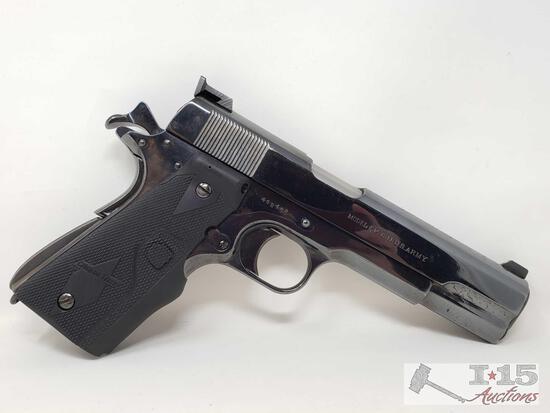 Colt US Army 1911 .45cal Semi-Auto Pistol Includes Magazine
