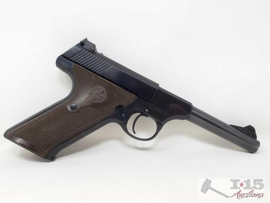 Colt Woodsman .22lr Semi-Auto Pistol with Magazine and Case