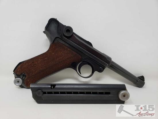 """WWII Nazi Mauser Luger """"byf"""" Code 41, P08 9mm Semi-Auto Pistol"""